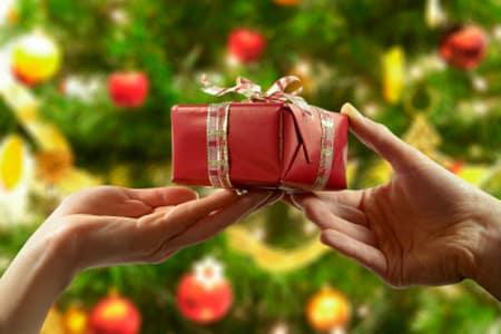 ajándék karácsony