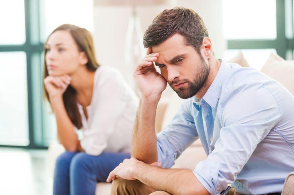párkapcsolati nehézségek, konfliktusok